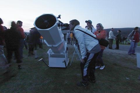 VI astronomiczny dzień w izerskim parku ciemnego nieba